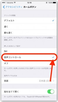 iPhone、音声コントロールもSiriもオフにする方法【10.2】